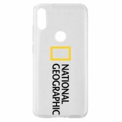 Чехол для Xiaomi Mi Play National Geographic logo
