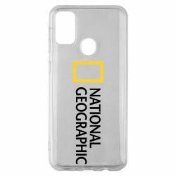 Чехол для Samsung M30s National Geographic logo