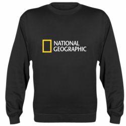 Реглан (свитшот) National Geographic logo