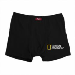 Мужские трусы National Geographic logo