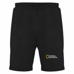 Мужские шорты National Geographic logo