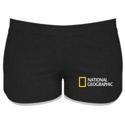 Женские шорты National Geographic logo