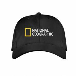 Детская кепка National Geographic logo