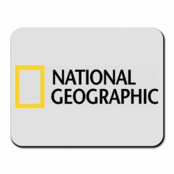 Коврик для мыши National Geographic logo