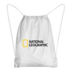 Рюкзак-мішок National Geographic logo