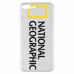 Чехол для iPhone 7 Plus National Geographic logo