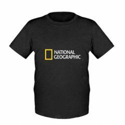 Детская футболка National Geographic logo