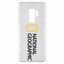 Чехол для Samsung S9+ National Geographic logo