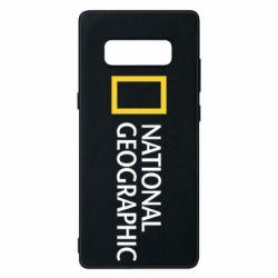 Чехол для Samsung Note 8 National Geographic logo