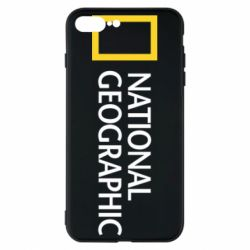 Чехол для iPhone 8 Plus National Geographic logo