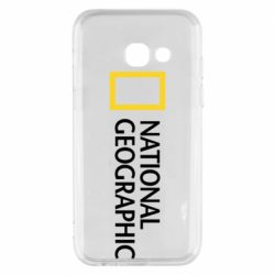 Чехол для Samsung A3 2017 National Geographic logo
