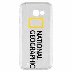 Чехол для Samsung A5 2017 National Geographic logo