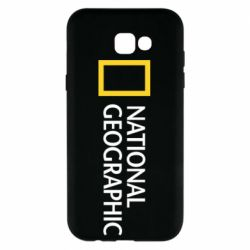 Чехол для Samsung A7 2017 National Geographic logo