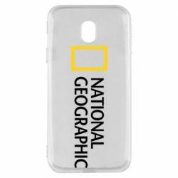Чехол для Samsung J3 2017 National Geographic logo