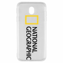 Чехол для Samsung J7 2017 National Geographic logo