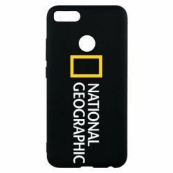 Чехол для Xiaomi Mi A1 National Geographic logo