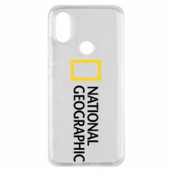 Чехол для Xiaomi Mi A2 National Geographic logo