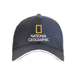 Кепка National Geographic simple logo