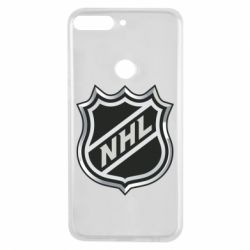 Чехол для Huawei Y7 Prime 2018 National Hockey League - FatLine