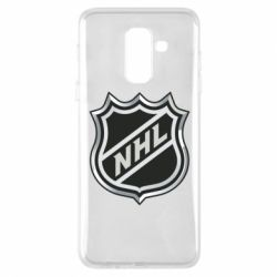 Чехол для Samsung A6+ 2018 National Hockey League - FatLine