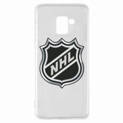 Чехол для Samsung A8+ 2018 National Hockey League - FatLine
