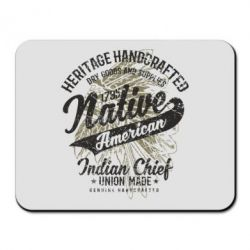 Килимок для миші Native American