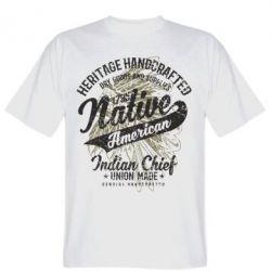 Чоловіча футболка Native American