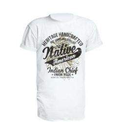 Подовжена футболка Native American