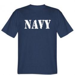 Мужская футболка NAVY - FatLine