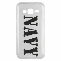 Чохол для Samsung J3 2016 NAVY