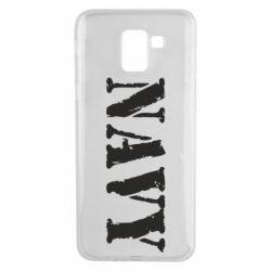 Чохол для Samsung J6 NAVY