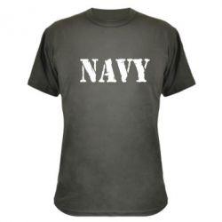 Камуфляжная футболка NAVY - FatLine