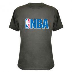 Камуфляжная футболка NBA Logo - FatLine