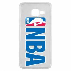Чехол для Samsung A3 2016 NBA Logo