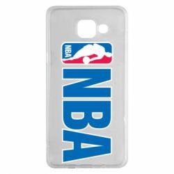 Чехол для Samsung A5 2016 NBA Logo