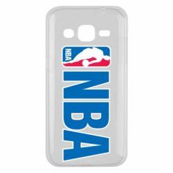 Чехол для Samsung J2 2015 NBA Logo