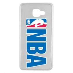 Чехол для Samsung A7 2016 NBA Logo