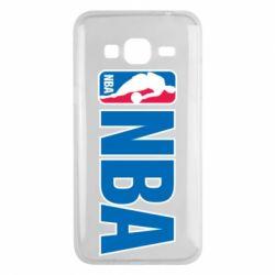 Чехол для Samsung J3 2016 NBA Logo
