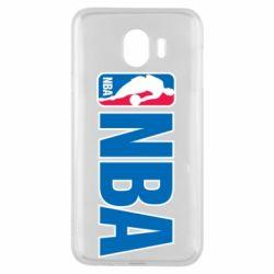 Чехол для Samsung J4 NBA Logo