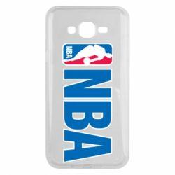 Чехол для Samsung J7 2015 NBA Logo
