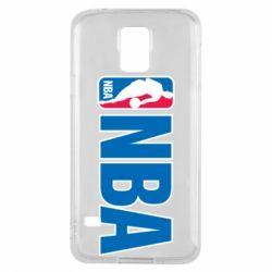 Чехол для Samsung S5 NBA Logo