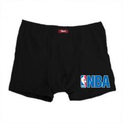 Мужские трусы NBA Logo - FatLine