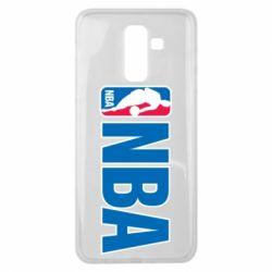 Чехол для Samsung J8 2018 NBA Logo