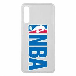 Чехол для Samsung A7 2018 NBA Logo
