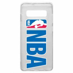 Чехол для Samsung S10+ NBA Logo