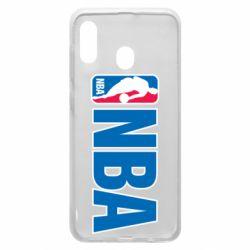 Чехол для Samsung A20 NBA Logo