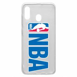 Чехол для Samsung A30 NBA Logo