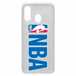 Чехол для Samsung A40 NBA Logo