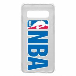 Чехол для Samsung S10 NBA Logo