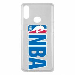 Чехол для Samsung A10s NBA Logo